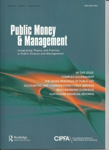 public money and management 001
