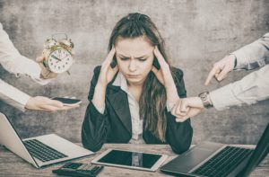 Werklast, werkdruk en werkstress